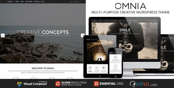 OMNIA - Multipurpose, Creative WordPress Theme - Portfolio Creative