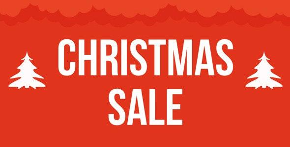 Christmas Sale Muse Template - Landing Muse Templates