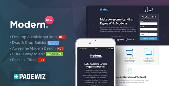 Modern - Multipurpose Pagewiz Template - Pagewiz Marketing