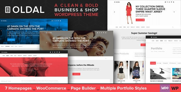 Oldal - Multi-Purpose Business WordPress Theme  - Business Corporate