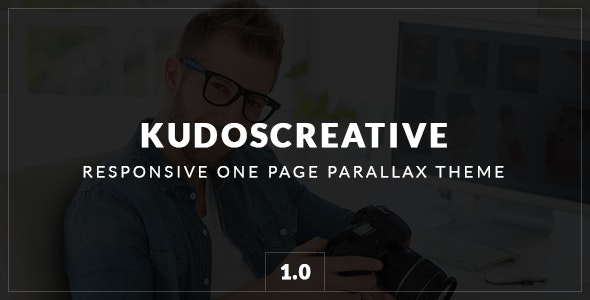 KudosCreative - Responsive One-Page Parallax Theme - Creative Site Templates