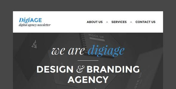 AGENCY - Responsive Email Template With Builder
