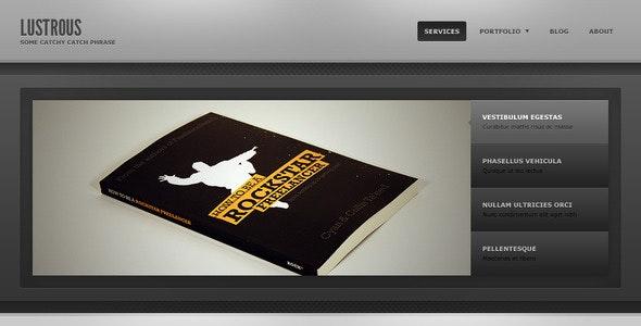 Lustrous - Business / Personal Portfolio - Portfolio Creative