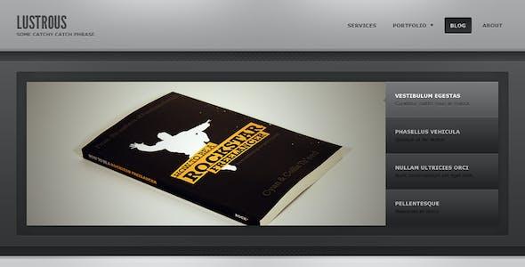 Lustrous - Business / Personal Portfolio
