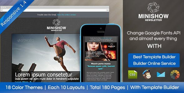 Minishow Responsive Email Template