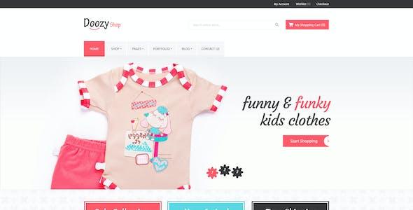 Doozy -  eCommerce & Blog PSD Template