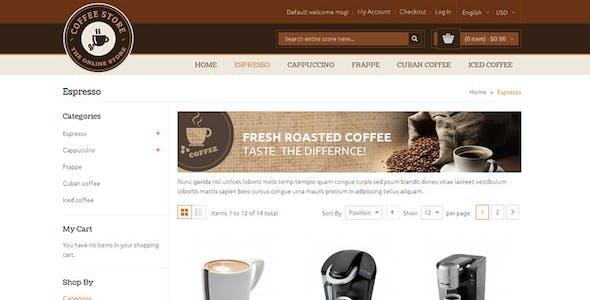 Coffee - Magento Responsive Theme