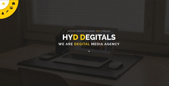 Hyd - Muse Template - Creative Muse Templates