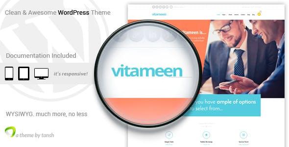 Vitameen Business Responsive WordPress Theme
