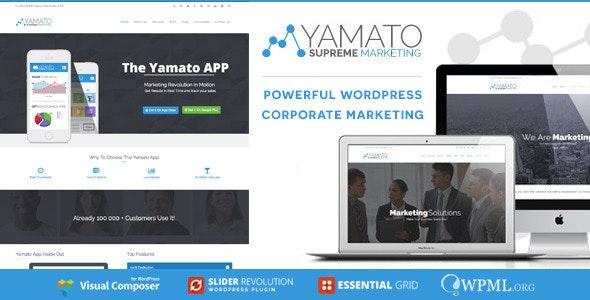 YAMATO - Corporate Marketing Wordpress Theme - Marketing Corporate