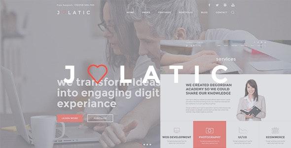 Julatic - Multi-Purpose PSD Template - Creative Photoshop