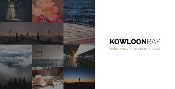 KowloonBay - Multipage Portfolio / Blog WP Theme - Portfolio Creative