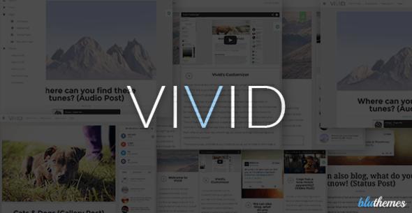Vivid | Customizable Responsive Personal Blog - Personal Blog / Magazine