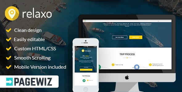 Relaxo - Pagewiz Landing Page - Pagewiz Marketing