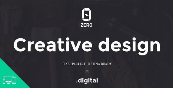 ZER0 - HTML5 Digital Creative Agency Template