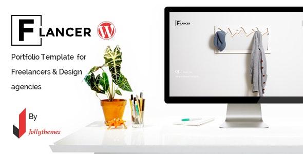 Flancer - WP theme for Freelancers & Agencies - Portfolio Creative