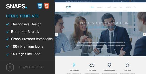 Snaps - Creative HTML5 Template