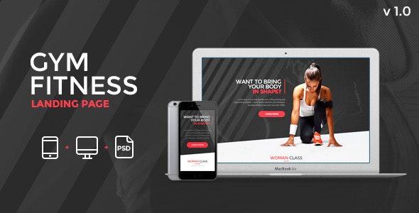 Fitness / Gym Landind Page - Pagewiz - Pagewiz Marketing