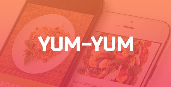 Yum-Yum | Restaurant PSD Template - Restaurants & Cafes Entertainment