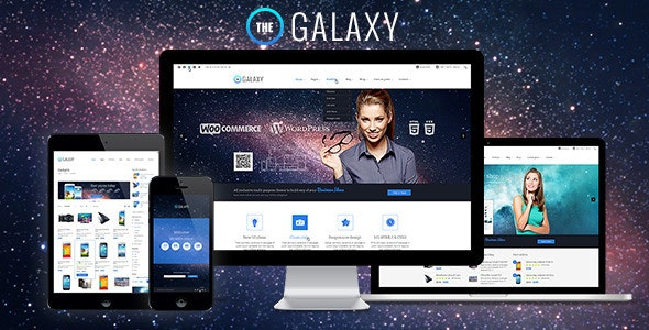 The GALAXY - Responsive Multi-Purpose PSD Theme - Corporate Photoshop
