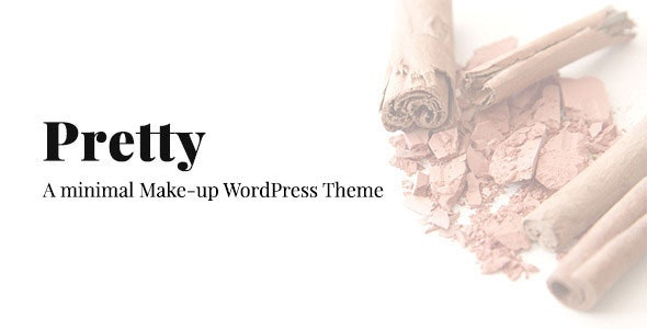 Pretty - Minimal Makeup Responsive Wordpress Theme - Health & Beauty Retail