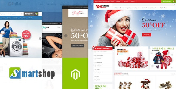 Ves Smartshop Magento Theme - Shopping Magento