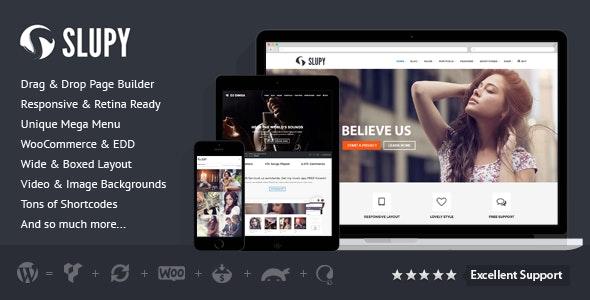 Slupy | Responsive Multi-Purpose WordPress Theme - Corporate WordPress