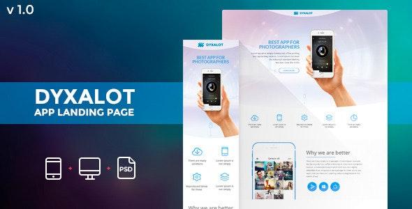 Dyxalot - App Landing Page (Pagewiz) - Pagewiz Marketing