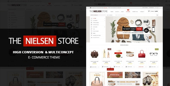 Nielsen -  E-commerce WordPress Theme - WooCommerce eCommerce