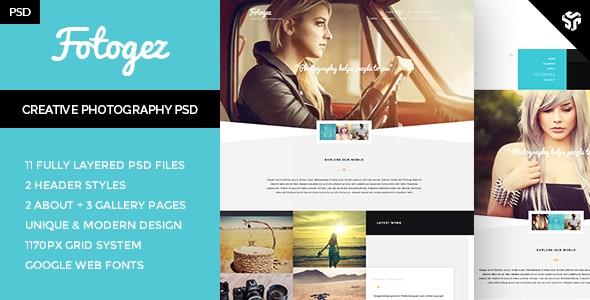 Fotogez - Creative Photography Theme - Photography Creative