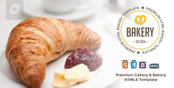 Bakery - Cakery & Bakery HTML5 Template - Retail Site Templates