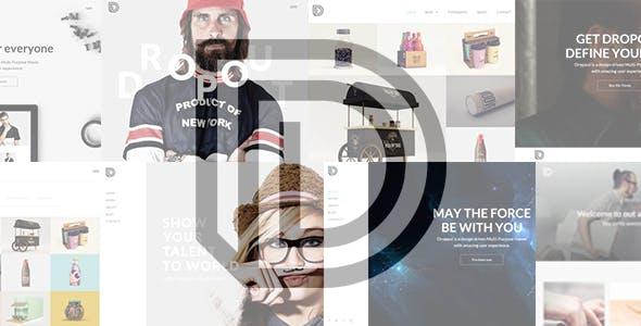 Blog HTML Portfolio Website Templates from ThemeForest