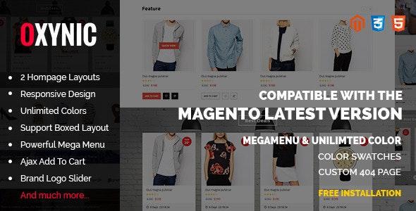 Oxynic - Responsive Multipurpose Magento Theme - Fashion Magento