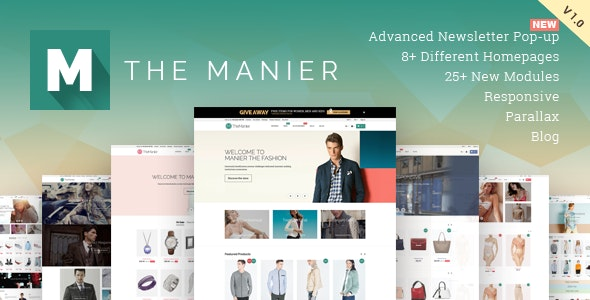TheManier - Premium Multi-Purpose PrestaShop Theme - PrestaShop eCommerce