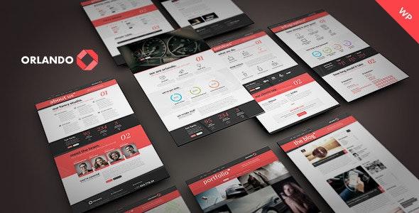 Orlando - Creative Infographics WordPress Theme - Corporate WordPress