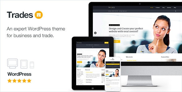 Trades - Multi-Purpose Business WordPress Theme - Business Corporate