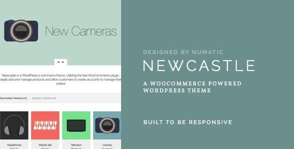 Newcastle - A WooCommerce Powered WordPress Theme - WooCommerce eCommerce
