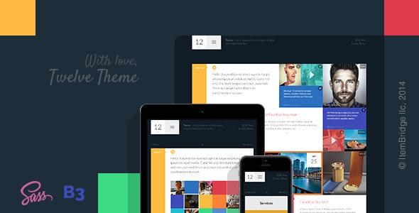 Twelve — Original & Creative Responsive Template - Creative Site Templates
