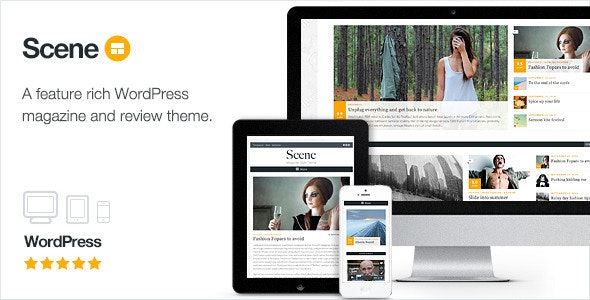 Scene - Magazine Theme for WordPress - News / Editorial Blog / Magazine