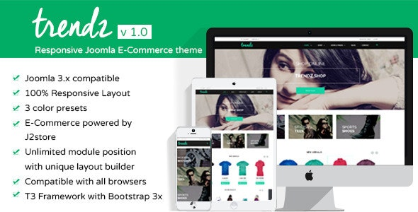 TP - Trendz Joomla eCommerce Template - Shopping Retail