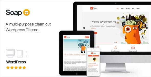 Soap - Creative Business Portfolio - Business Corporate