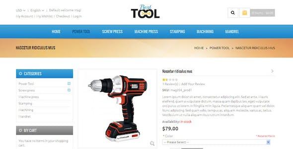 Tools - Magento Responsive Theme