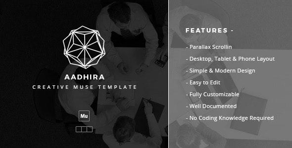 Aadhira - Creative Muse Template - Creative Muse Templates