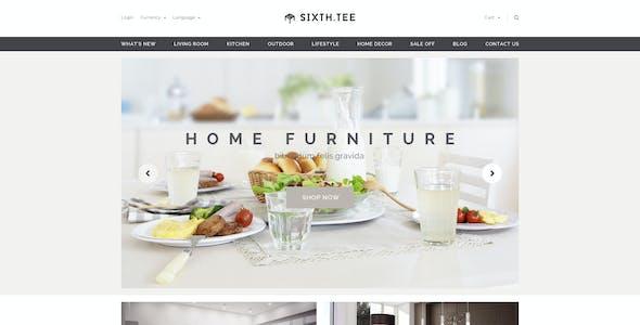 Minimal Multipurpose Shopify Theme - SixthTee