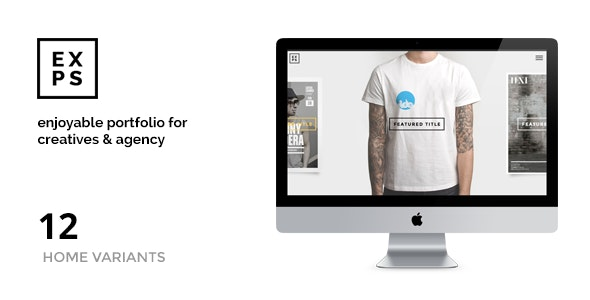 EXPOSE - Creatives & Agency WordPress Theme - Portfolio Creative