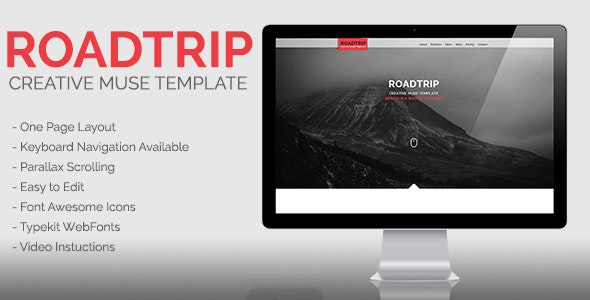 Roadtrip | Creative Muse Template - Creative Muse Templates