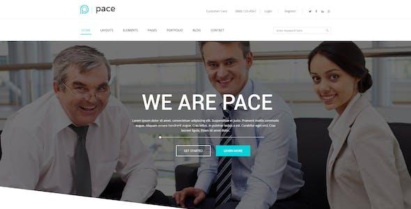 Pace – Multi-Purpose Business PSD Template
