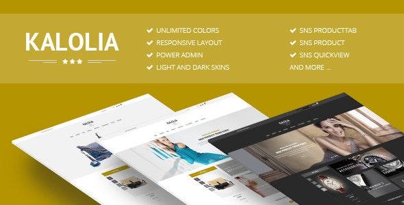 SNS Kalolia - Premium Responsive Magento Theme - Magento eCommerce