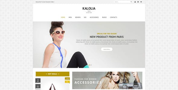 SNS Kalolia - Premium Responsive Magento Theme