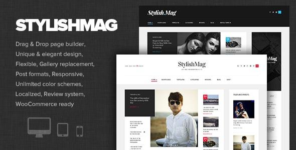 StylishMag - Elegant News & Magazine Theme - News / Editorial Blog / Magazine